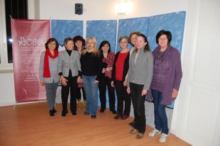 Il gruppo nella sede del CSV